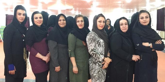 ایروبیک شهرستان بندر ماهشهر