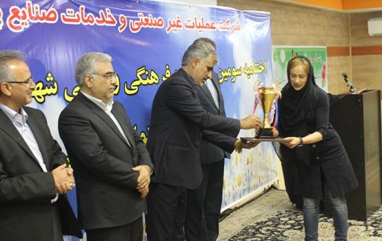 بانوان جشنواره صنایع پتروشیمی ماهشهر