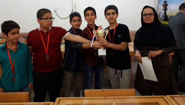 شطرنج ابتدایی پسران ماهشهر