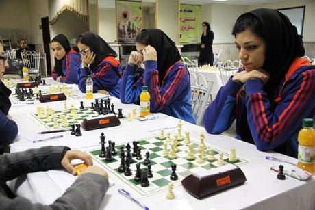 ليگ برتر شطرنج بانوان كشور پتروشيمي بندرامام
