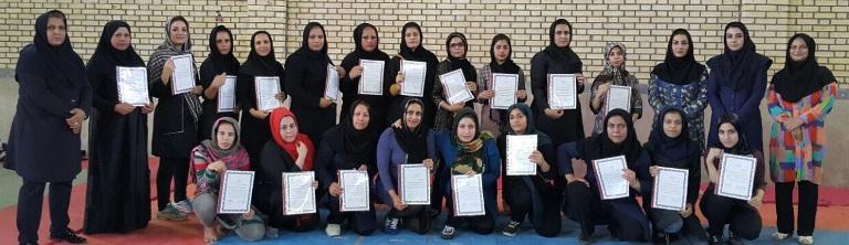 مسابقات کبدی بانوان ماهشهر