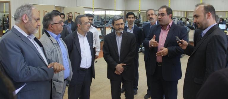 مهندس غلامی مدیرعامل عملیات غیر صنعتی شهرستان ماهشهر